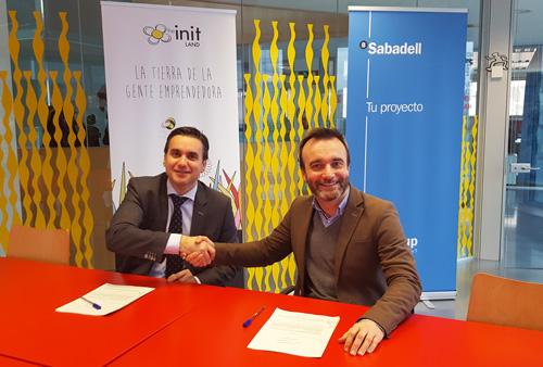 Convenio Entre Initland Y Banco Sabadell