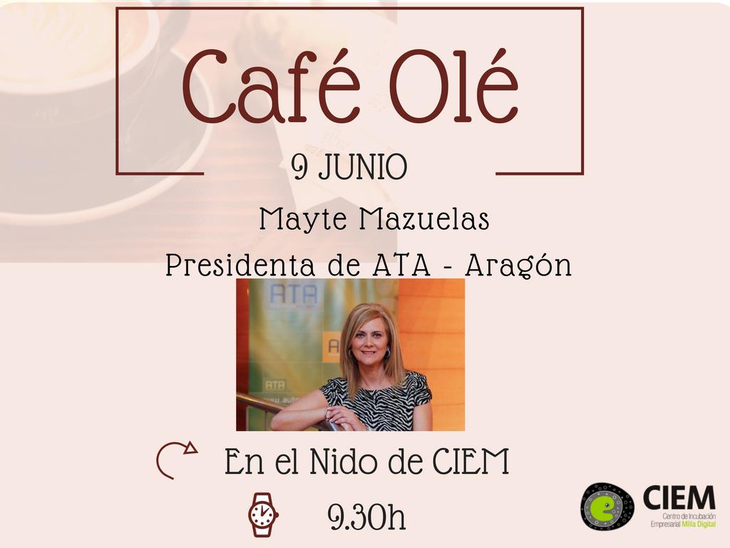 Café Olé con Maite Mazuelas