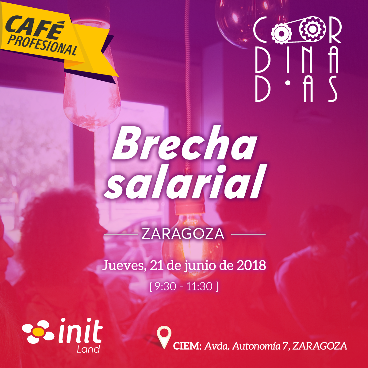 Café Profesional 'Brecha Salarial'
