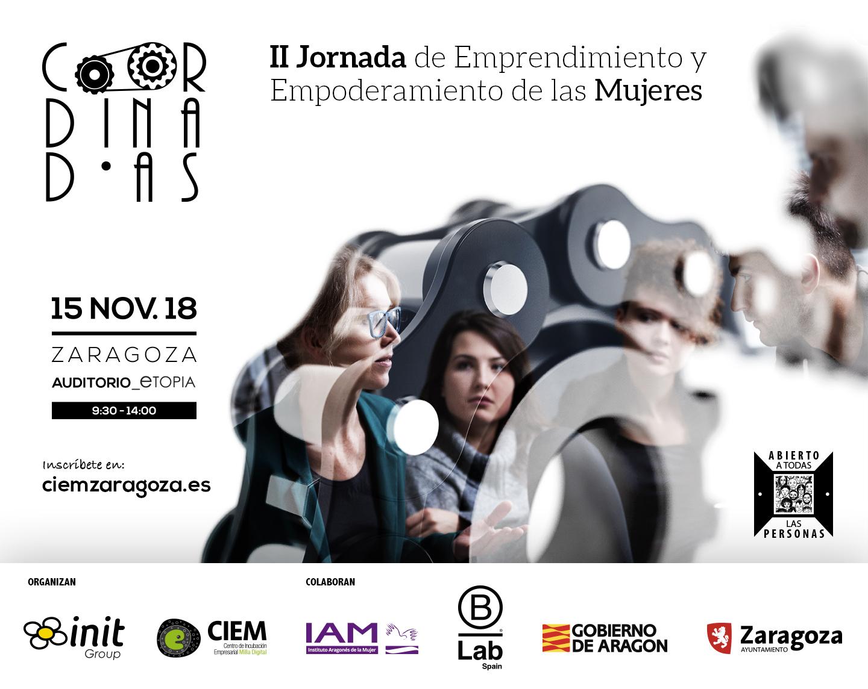 II Jornada de Emprendimiento y Empoderamiento de las Mujeres: Coordinadas