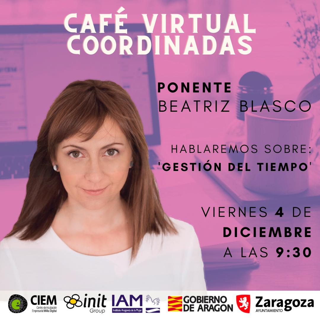 Café Virtual Coordinadas con Beatriz Blasco