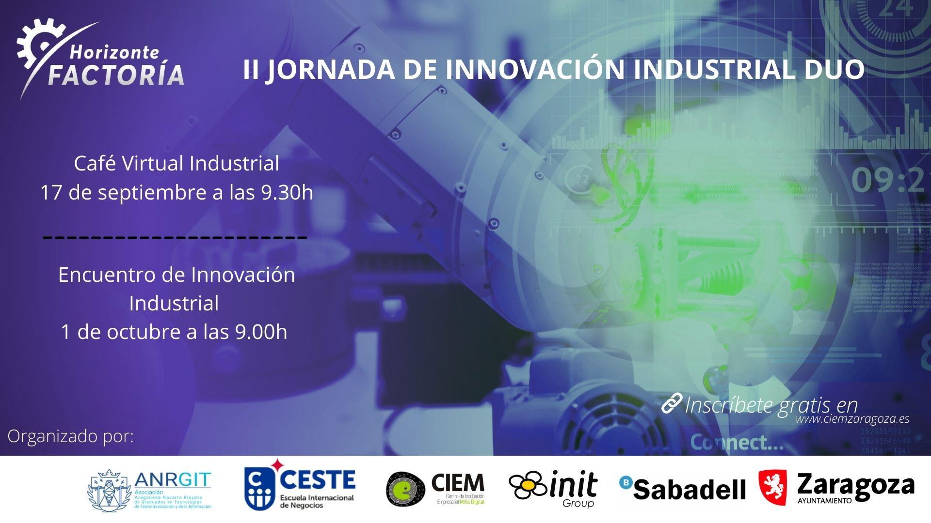Horizonte Factoría. II Jornada de Innovación Industrial DUO